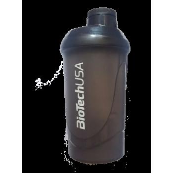 Шейкер BiotechUSA Wave Черный - 600 мл.